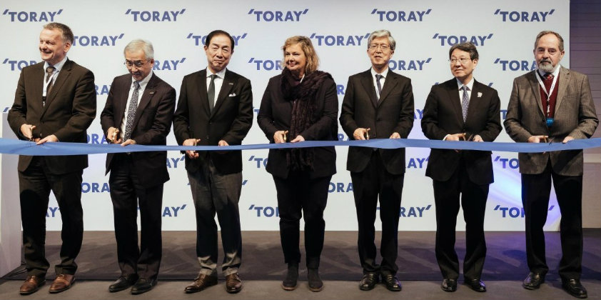 Toray opens new Automotive Centre in Germany