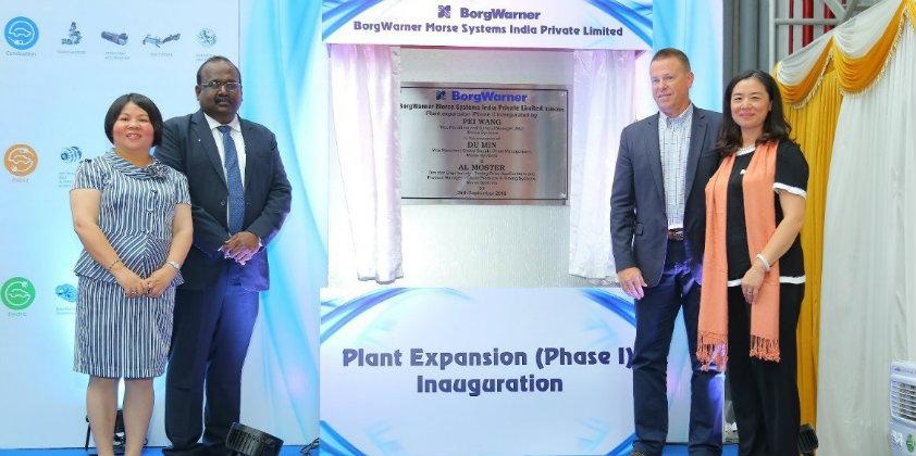 BorgWarner expands its plant in Kakkalur, India