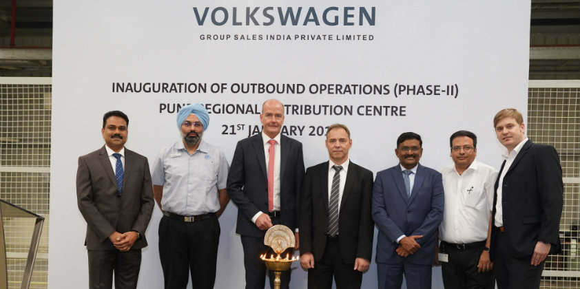 Volkswagen Group expands its parts distribution centre in Pune, India