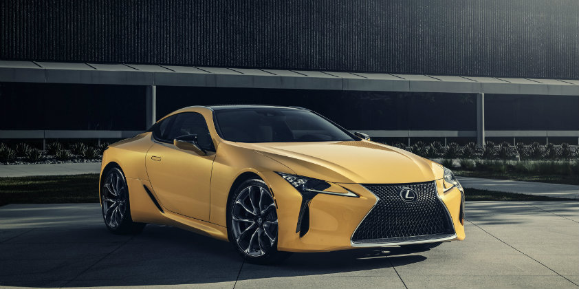 Limited production Lexus LC 500 Inspiration Series debuts in Chicago