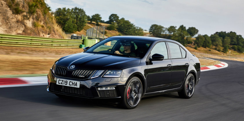 Škoda launches the UK specific Octavia vRS Challenge
