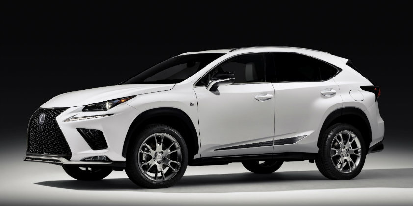 2019 Lexus NX the Black Line Treatment