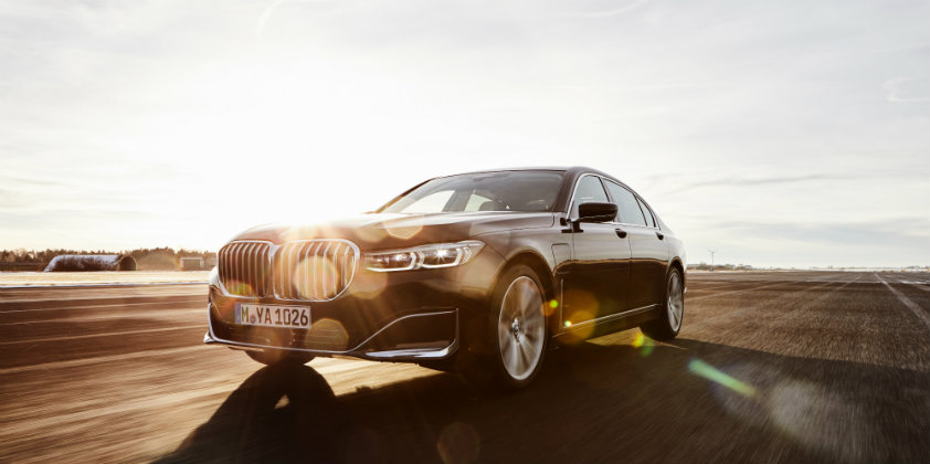 BMW launches plug-in hybrid model of its flagship sedan 7 series