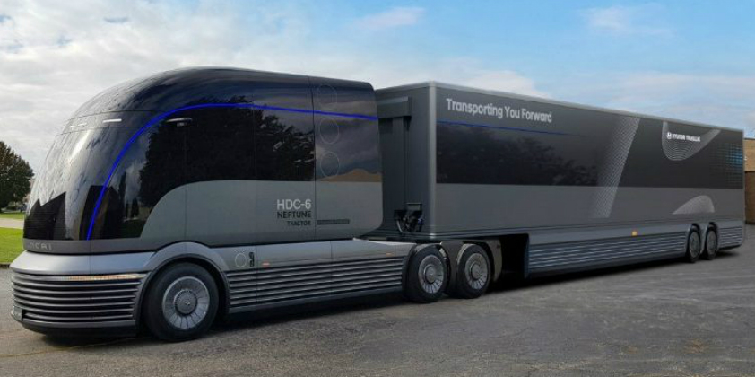 Hyundai shows its vision of the future of truck transport