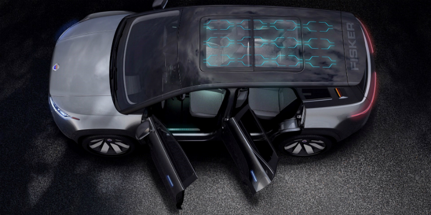 Fisker Ocean - the world's most sustainable vehicle