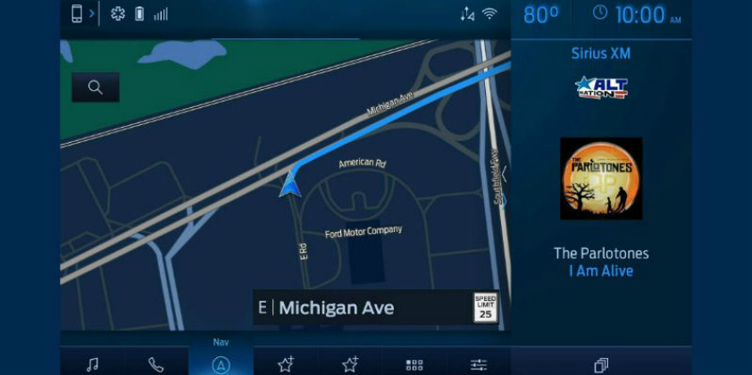 Ford unveils SYNC 4 updated communications and entertainment system