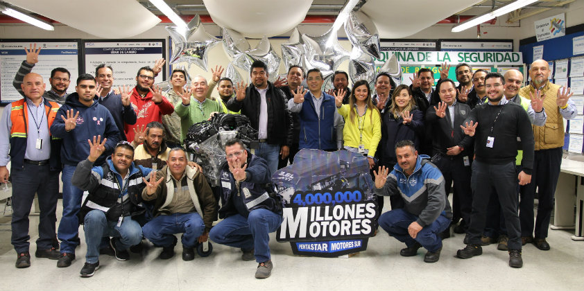 FCA Mexico produces 4 millionth engine at the Saltillo Sur Motors Plant