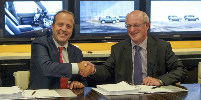 DHL Supply Chain renews contract with Jaguar Land Rover