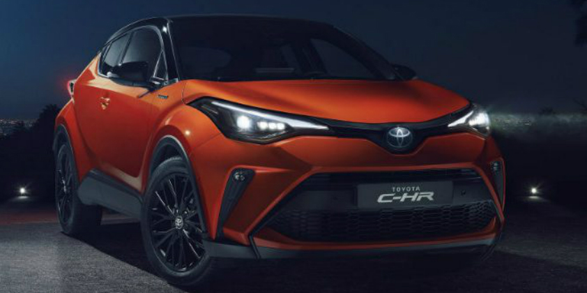 Toyota's new C-HR - powered by a choice of hybrid powertrains