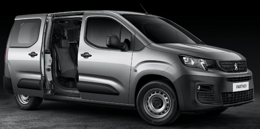 Peugeot launches all-new Partner Crew Van