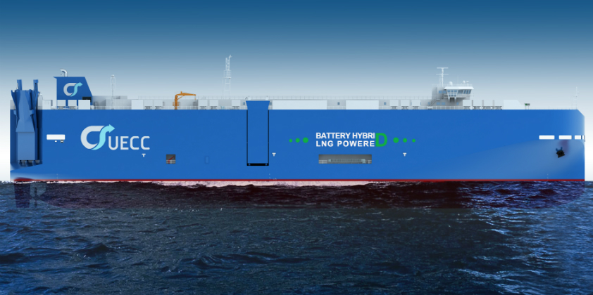UECC is building a third battery hybrid LNG vessel
