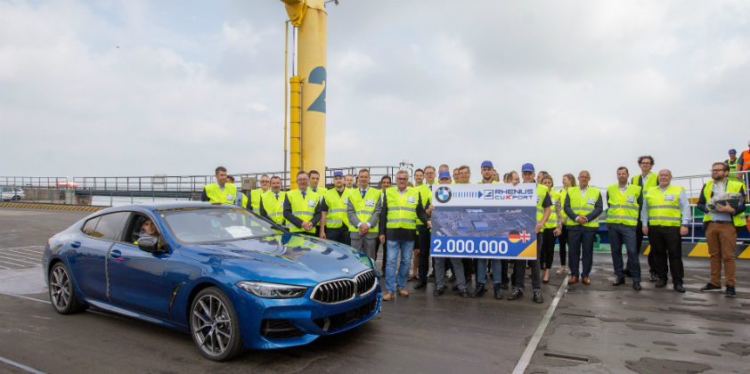 Cuxport ships the two millionth car for a premium manufacturer