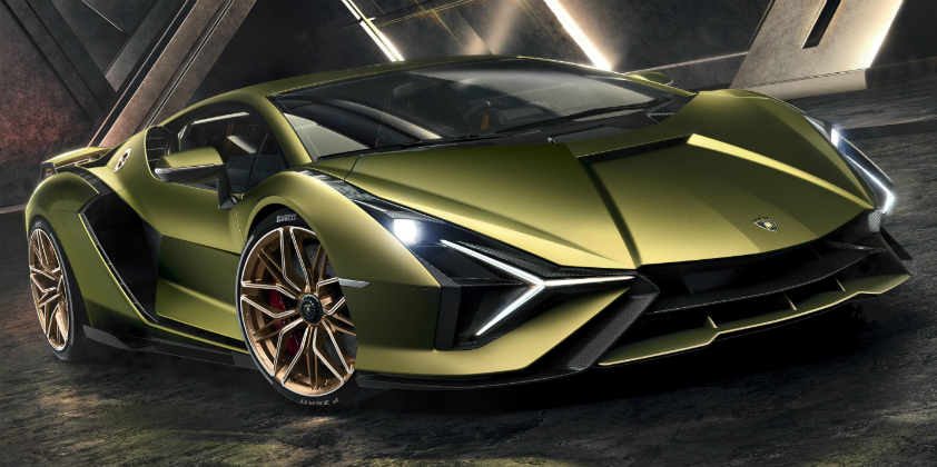 The Lamborghini Sián: Limited edition hybrid super sports car previews the future