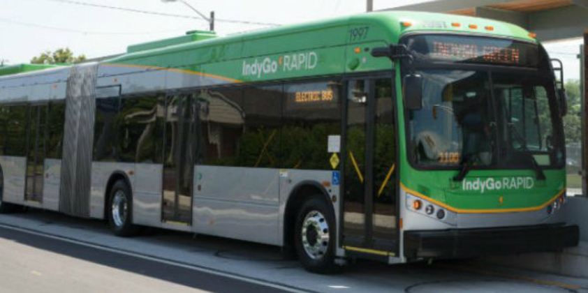 America's first zero-emission bus service launched in Indianapolis with BYD buses