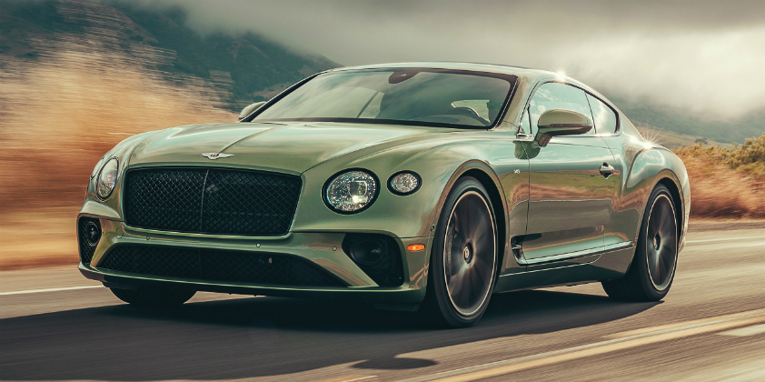 Bentley Continental GT - new year model gets V-8 power