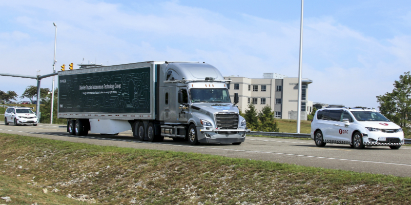 Daimler Trucks working with supplier to test automated trucks on public roads