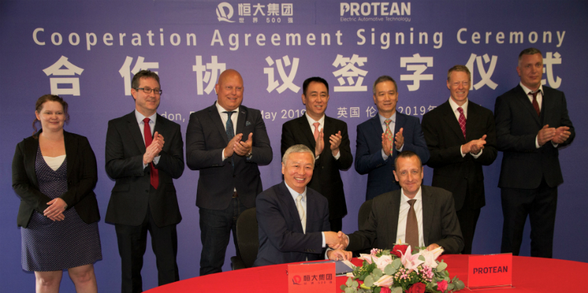 NEVS acquires UK in-hub motor maker Protean Electric