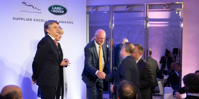 Jaguar Land Rover has celebrates global supply chain with Supplier Excellence Awards
