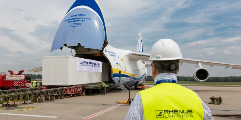 Rhenus delivers goods via Antonov from Cologne/Bonn Airport to Rio de Janeiro