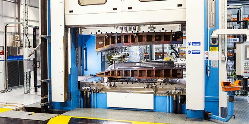 Hot form quench sets aluminium lightweighting standard