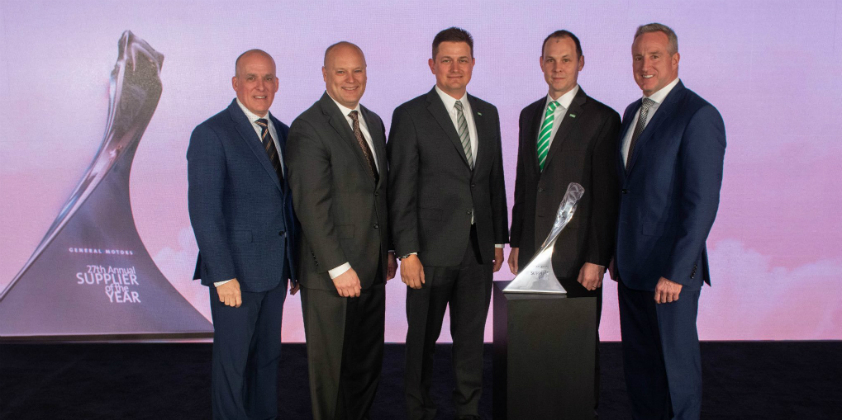 MANN+HUMMEL recognised by General Motors as a Supplier of the Year