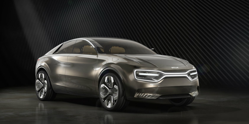 Kia demonstrates the fully electric Imagine Concept