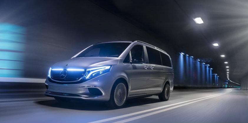 Mercedes-Benz premieres the Concept EQV in Geneva