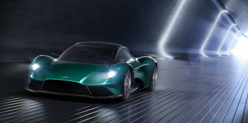 Aston Martin shows off the Vanquish Vision Concept