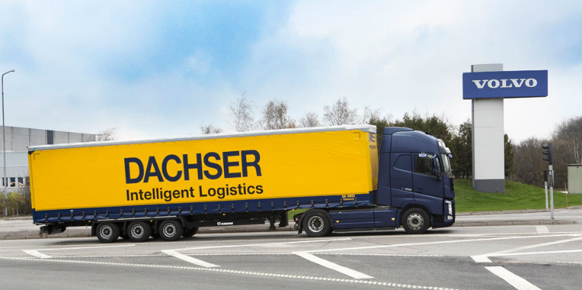 Dachser Sweden to transport spare parts for Volvo Cars