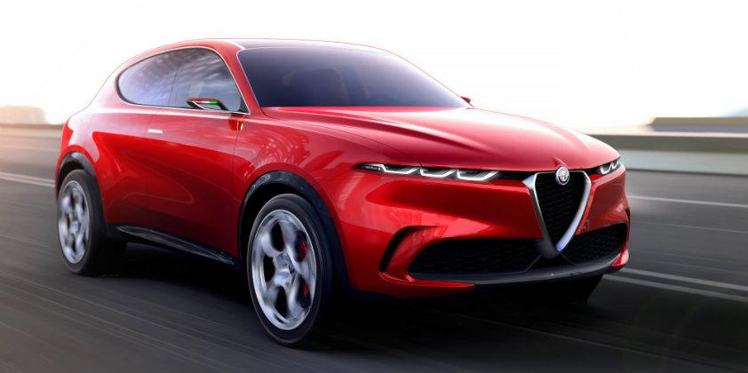 Alfa Romeo debuts the Tonale Concept Car