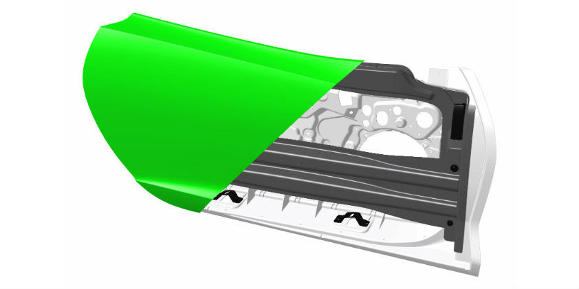 Teijin develops extra-light automotive Side-Door Module