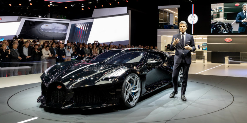 Bugatti celebrates its 110th anniversary by launching the world's most expensive car