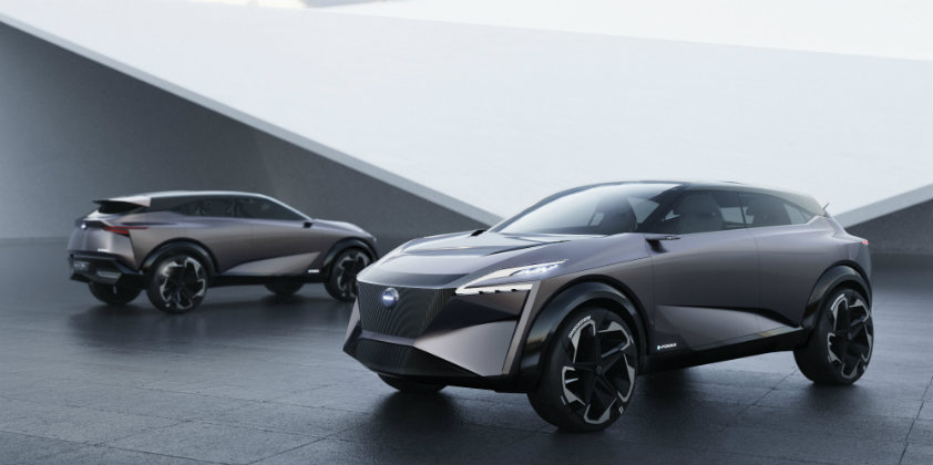 Nissan takes curtains off the IMQ concept