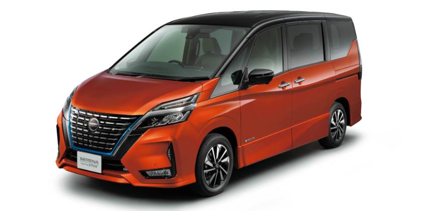 New Nissan Serena goes on sale in Japan