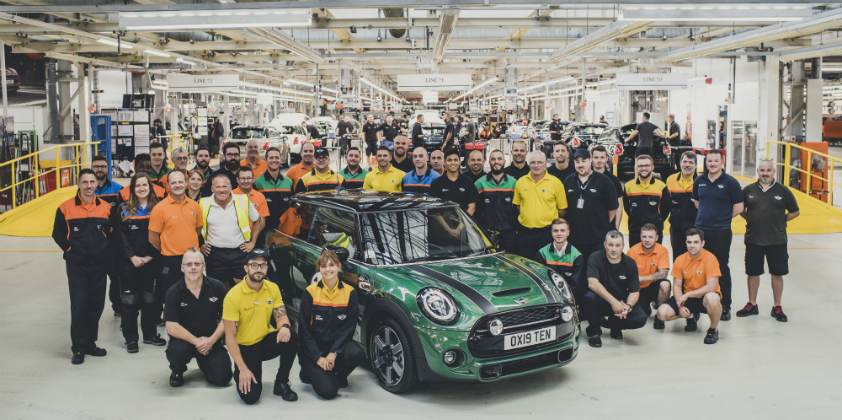 10 millionth MINI built in the brand's 60th year