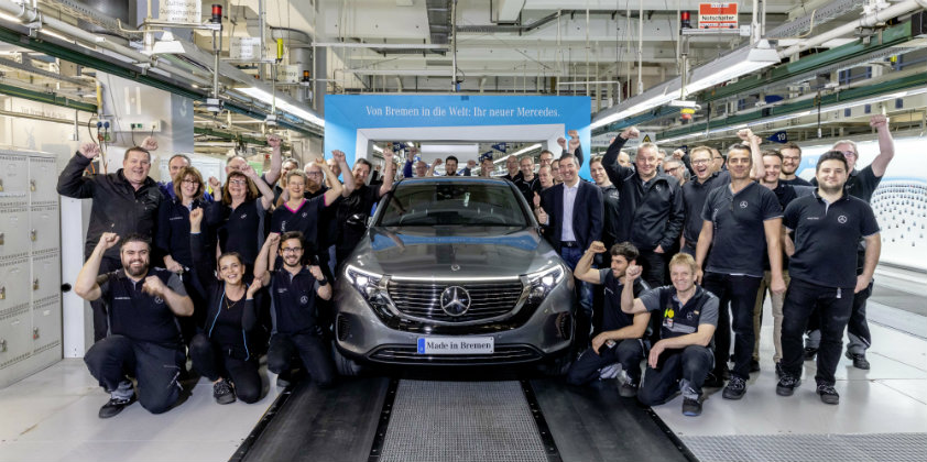 Mercedes-Benz EQC now up for orders