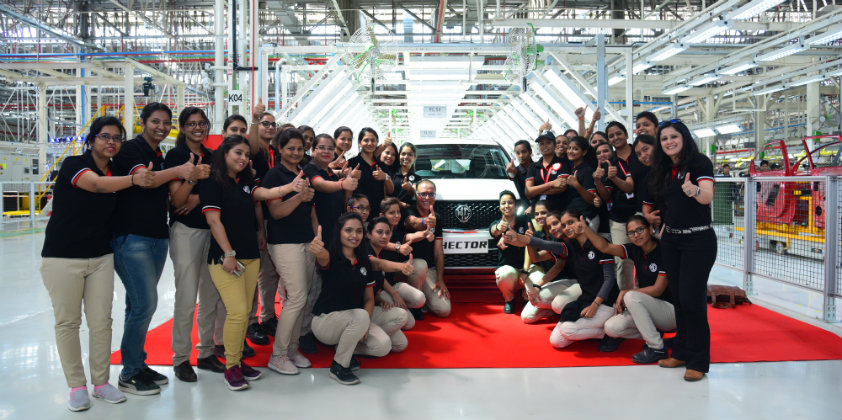 MG Motor readies itself to enter the Indian market with the commencement of production of the Hector