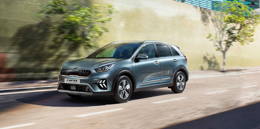Kia's Niro Hybrid and Plug-in Hybrid receives an update