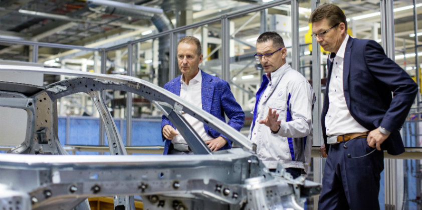 Volkswagen builds 200 pre-production vehicles of the ID.3