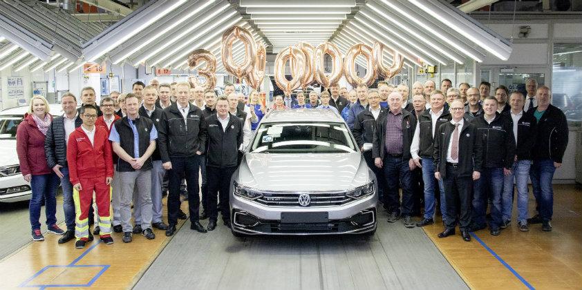 Volkswagen Passat production breaches the 30 million mark