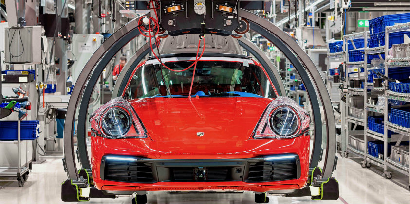 Porsche reduces CO2 emissions by 75% since 2014
