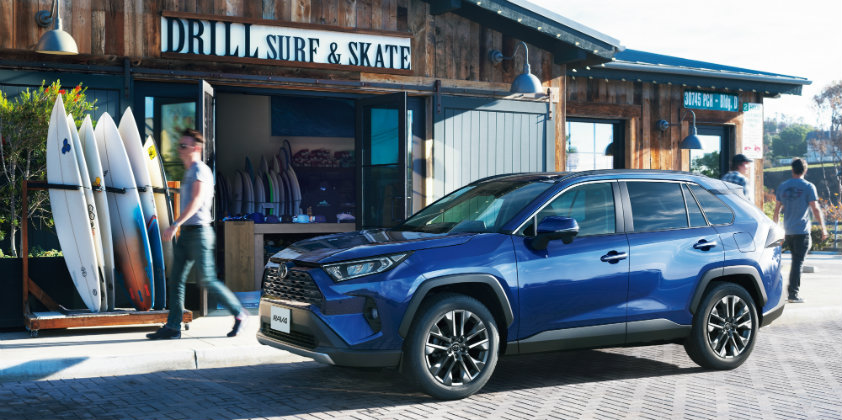 Toyota unveils the all-new RAV4