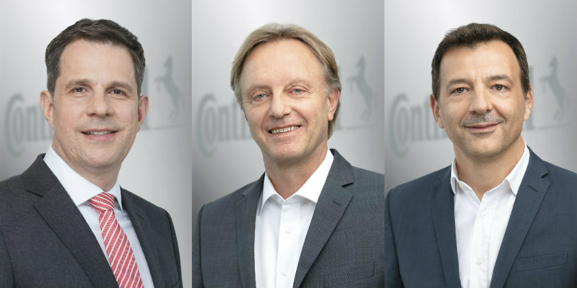 Continental announces changes in Management Board of Chassis & Safety Division