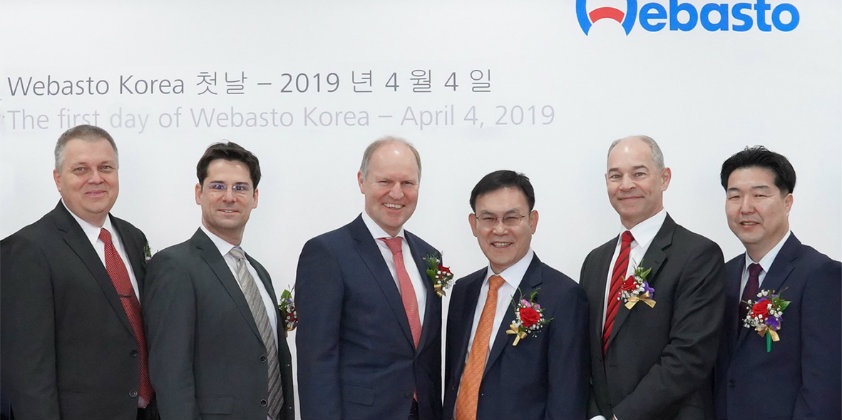 Webasto takes over shares of its South Korean JV from Donghee