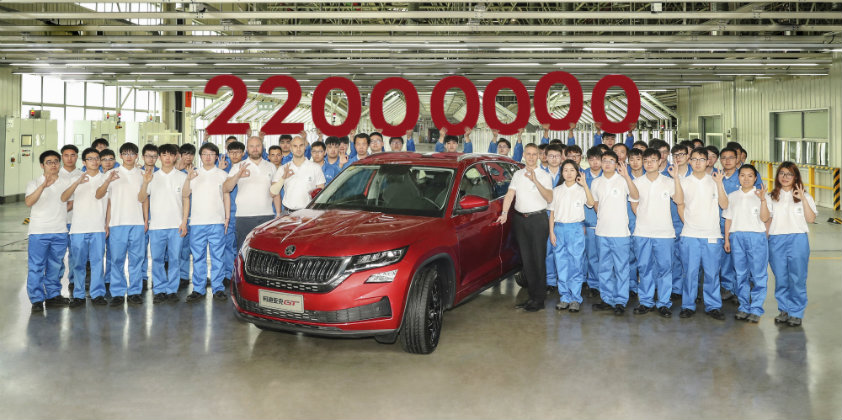 Škoda manufactures its 22 millionth vehicle