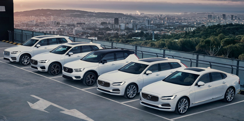 Volvo becomes first OEM to offer PHEV versions of full model range