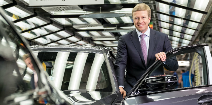 Oliver Zipse takes over as the new Chairman of BMW AG