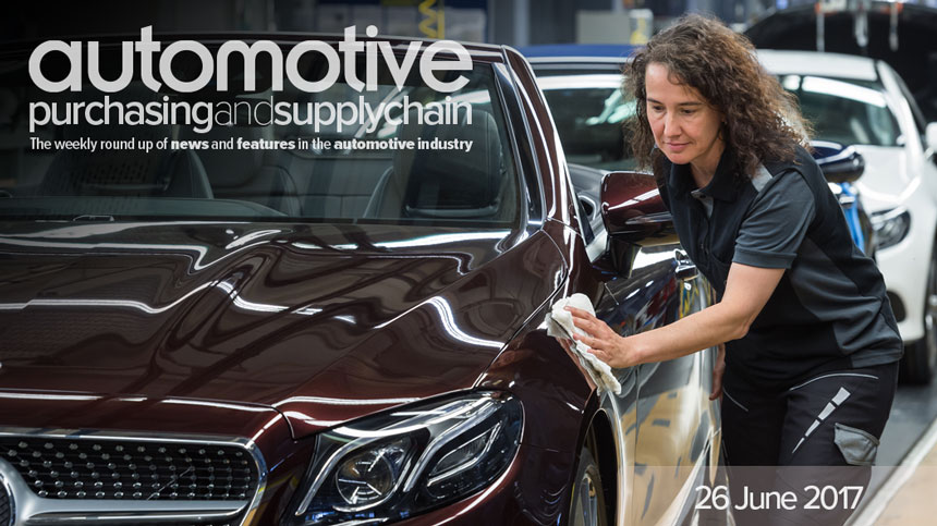 Weekly News Review | 26 June 2017 | Automotive Purchasing and Supply Chain
