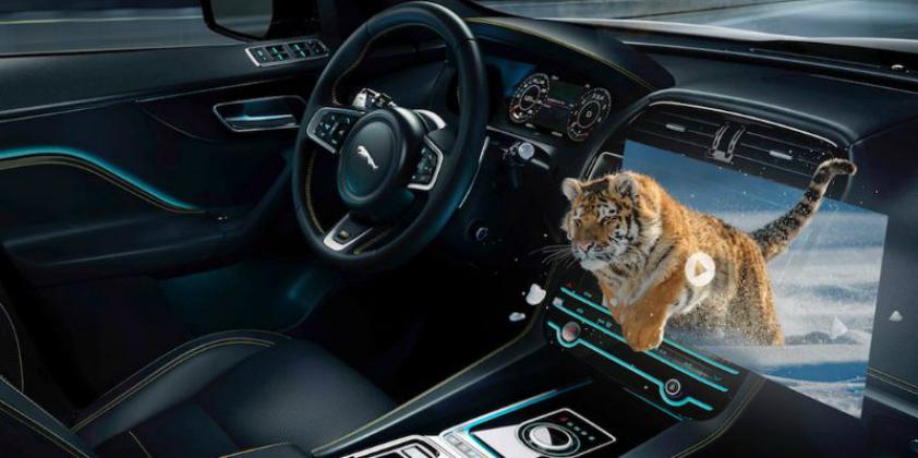 Jaguar Land Rover develops immersive 3D in-car experience