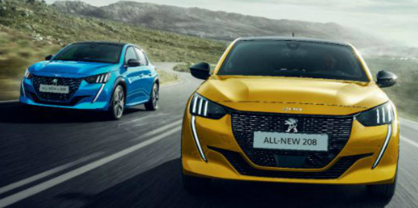 Peugeot opens the order books for e-208 in UK with special business user benefits